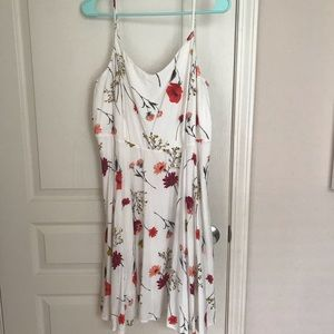 Old Navy Floral Printed Fit and Flare Dress
